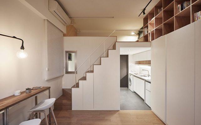 Căn hộ nhỏ, thiết kế nội thất sao cho hợp lý?